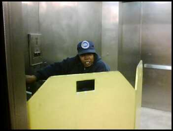 185th Street Elevator Attendant in Action: Please Pardon the Phone-Quality Photo.